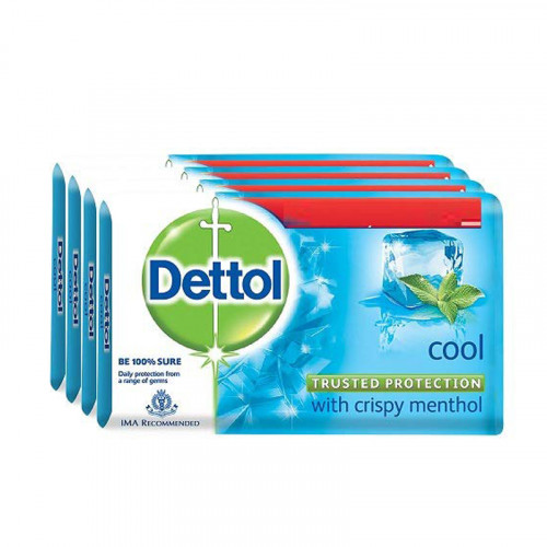 Dettol Cool Soap Buy 3 Get 1 free 75g