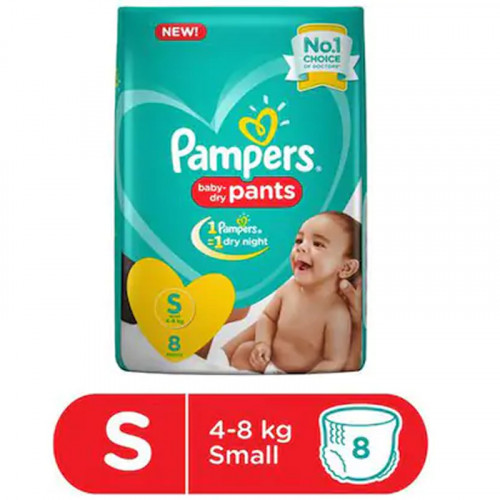 Pampers Baby Dry Pants Small Size 8 pants