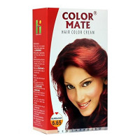 Color Mate Hair Color 65ml  (Burgundy 6.65)
