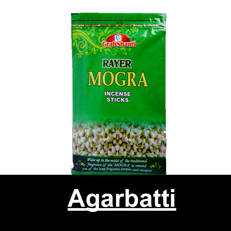Grahshanti Rayer Mogra Incense Sticks 150g