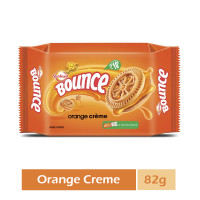 Sunfeast Bounce, Orange Cream, 82g
