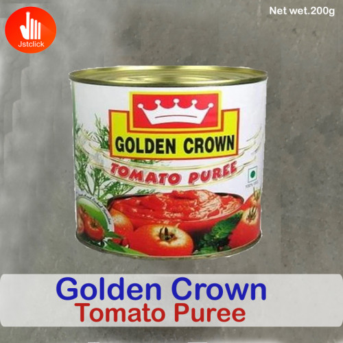 Golden Crown Tomato Puree 200g