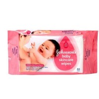 Johnson's Baby skincare wipes 10N