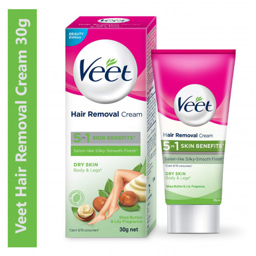 Veet Hair Removal Cream - 30 g (Dry Skin)